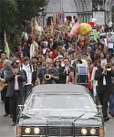 NZ funeral procession